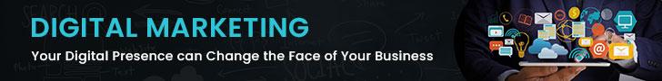 Digital Marketing Ad banner