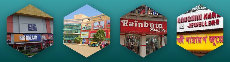 Shopping malls in Asansol
