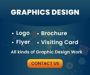 Graphic Design ad banner