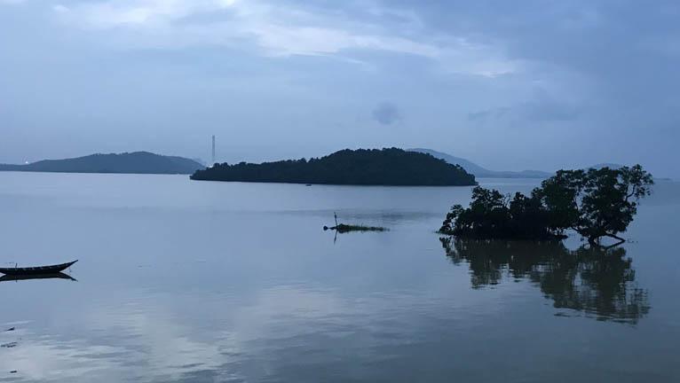 Maithon Dam Sunset Photo